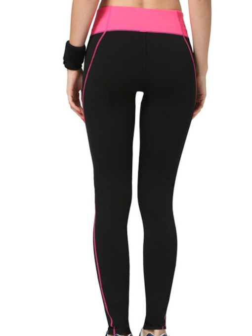 Split Joint Form-Fitting Springy Women's Yoga Leggings (Plus Size Available)