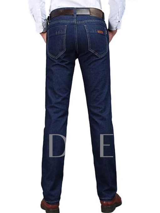 Men's Jeans with Mid Waist