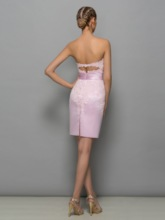 Strapless Appliques Short Mother of the Bride Dress With Jacket