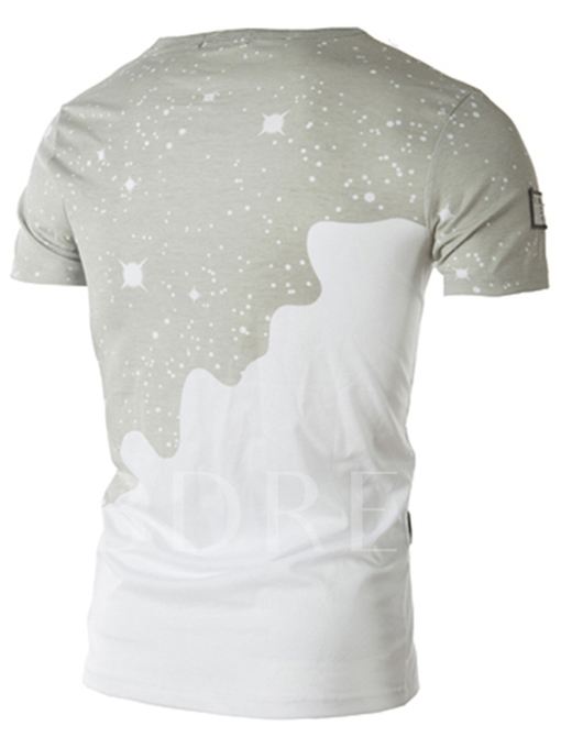 Men's Base Tee with Front Painted