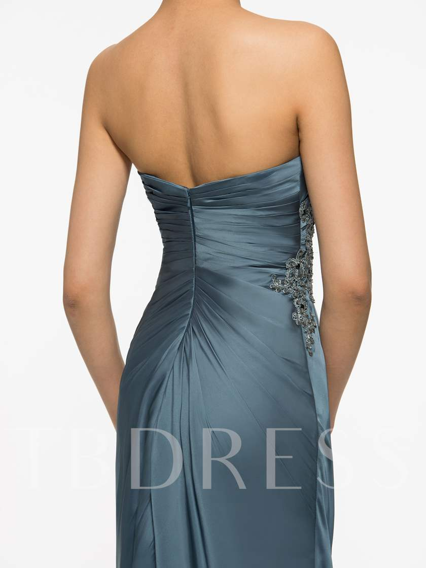 Appliques Beading Sheath Mother of the Bride Dress with Jacket