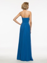 Strapless Ruched Beading A-Line Mother Of The Bride Dress With Jacket