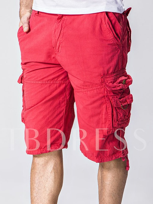 Men's Casual Shorts with Side Pockets