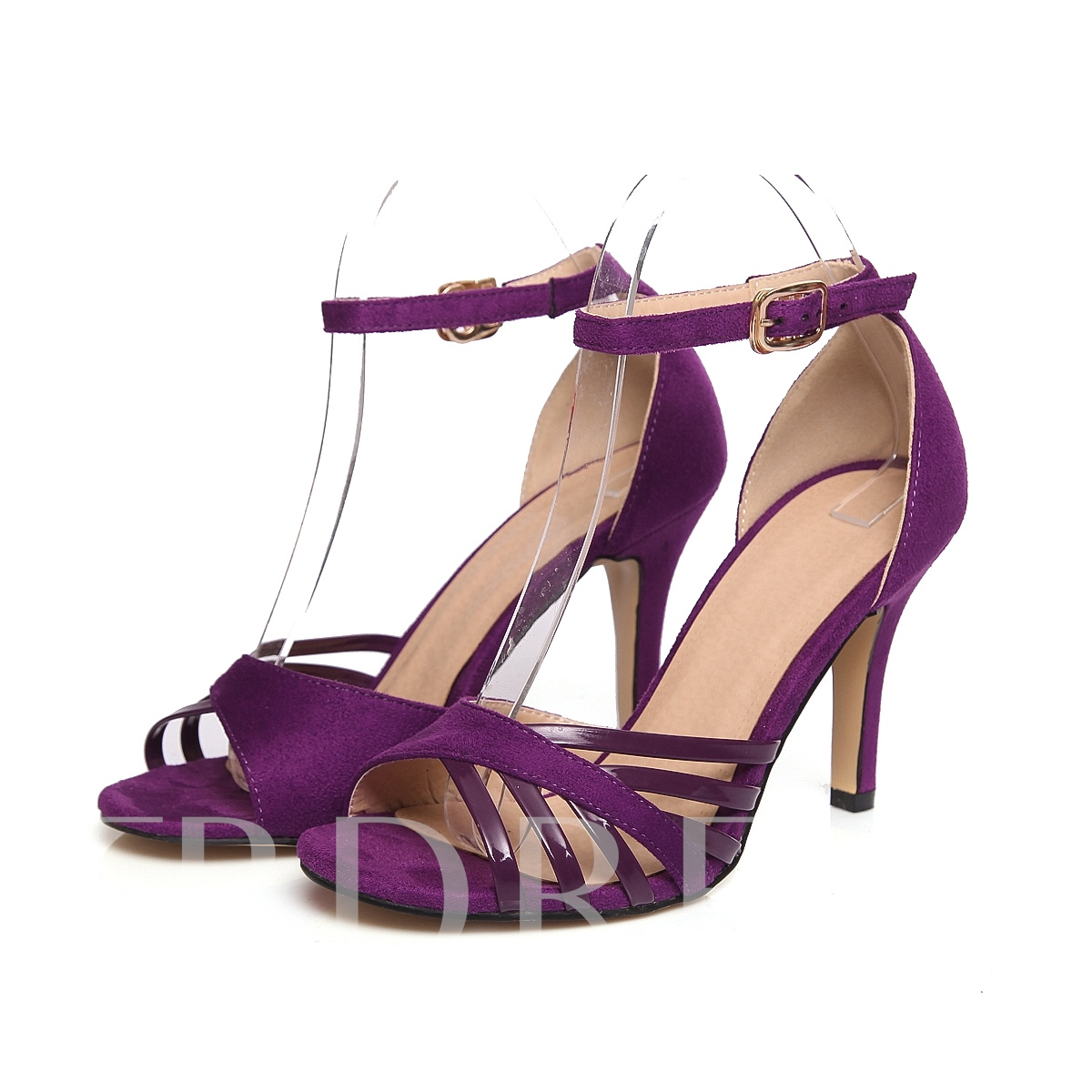 Open Toe Stiletto Heel Strappy Women's Sandals