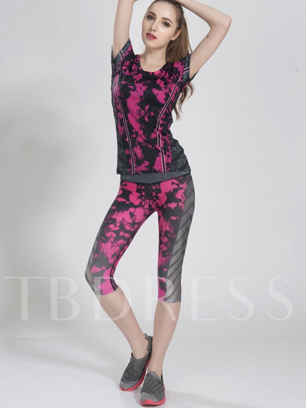 Casual Breathable Yoga Running Women's Sports Suit