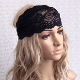 Lace Hollow-Out Decorative Pattern Headband