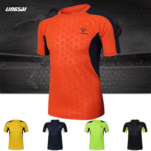 Men's Round Collar Assorted Color Outdoor Short Sleeve T-shirt