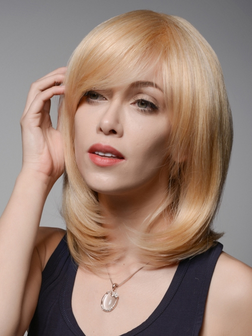 Charming LOB High Quality 100% Human Hair Wigs 12 Inches