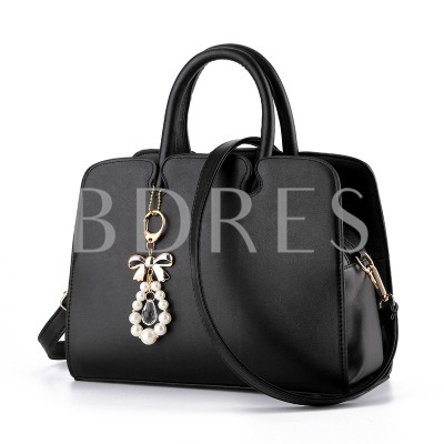 Trends Bowtie with Pearl Pendant Women's Tote Bag