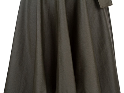 Army Green V-Neck Sleeveless Women's Maxi Dress (Plus Size Available)