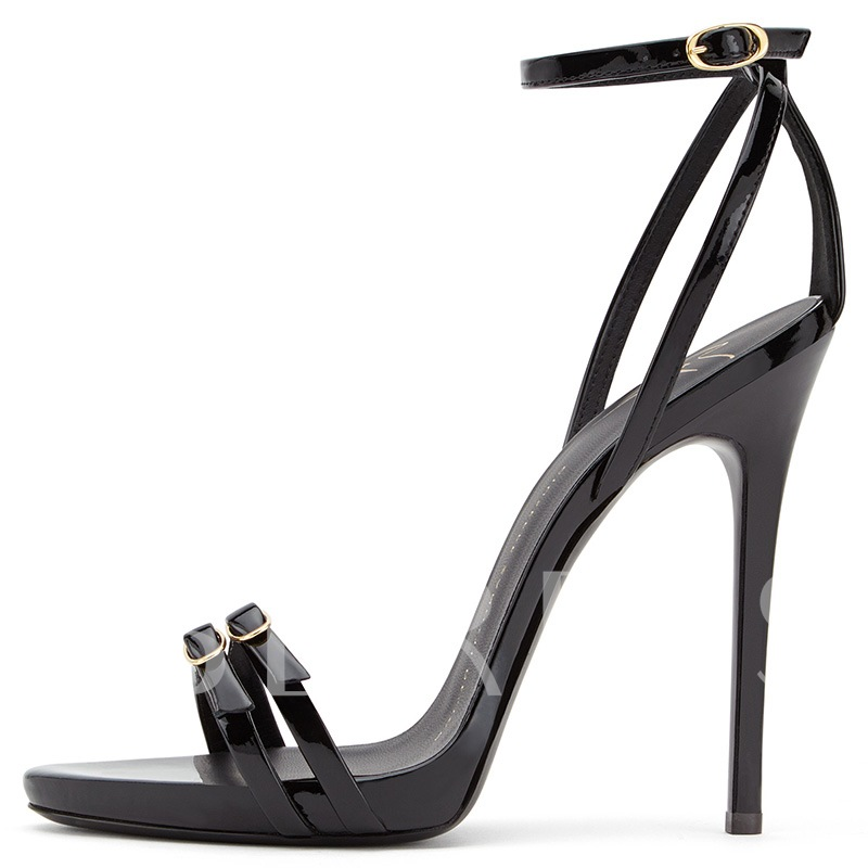 Strap Buckle Stiletto Heel Open Toe Women's Sandals
