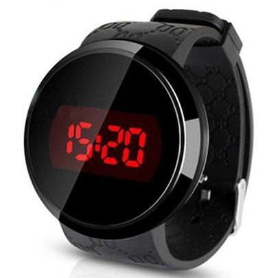 Circular Touch Screen LED Electronic Watch Circular Touch Screen LED Electronic Watch