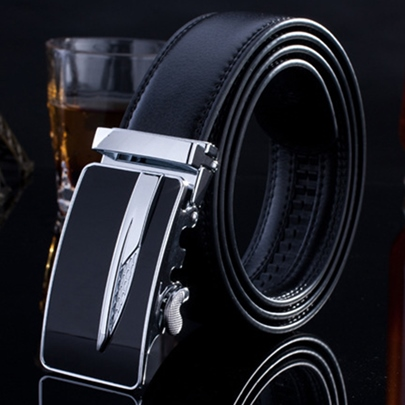 Black Automatically Leisure Belt