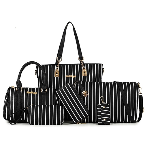 Fresh Air Environmental Vertical Stripe Women's Bag Sets