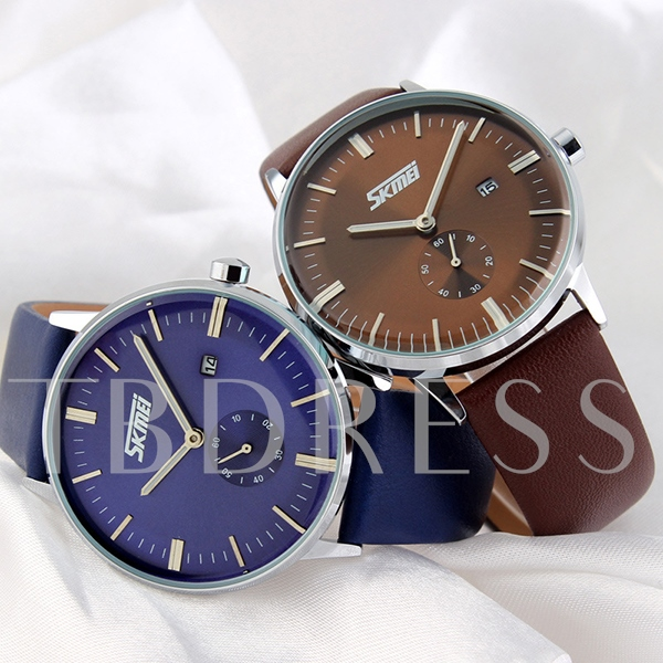 Waterproof Big Dial Business Men's Watch