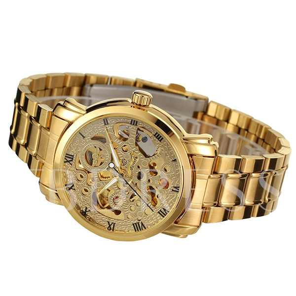 Roman Numeral All Mechanical Watch