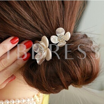 Shell Multilayer Flower Hair Rope