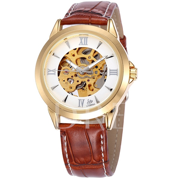 Men's Hollow Out Automatic Mechanical Watch
