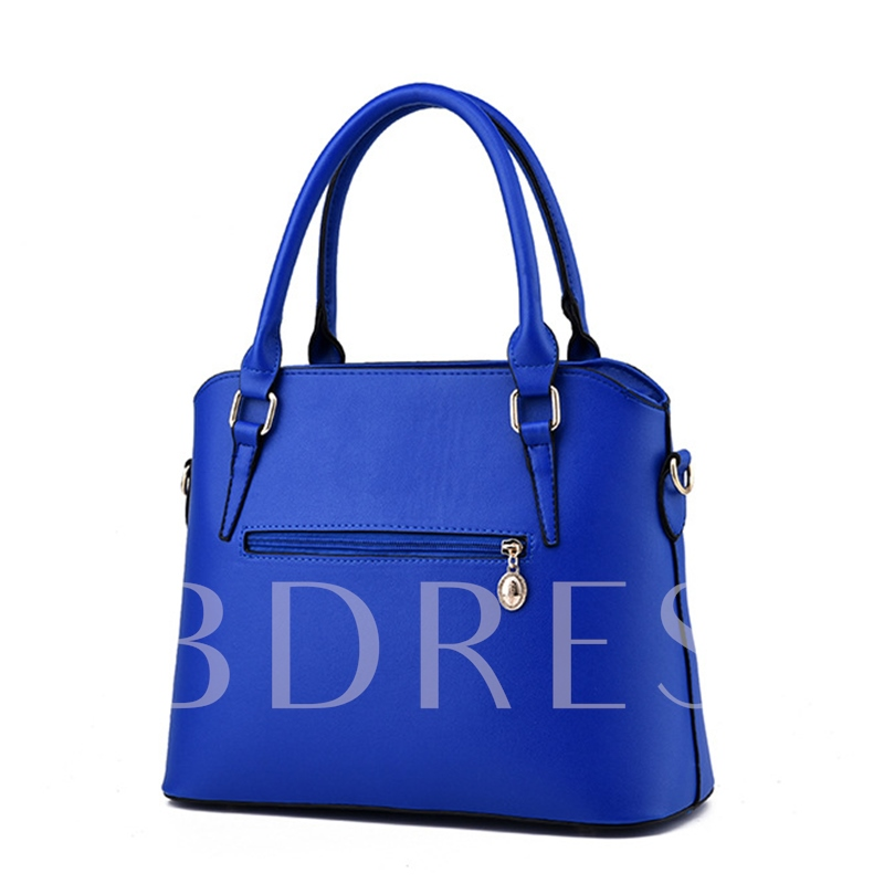 Casual Solid Color Women Bag Sets