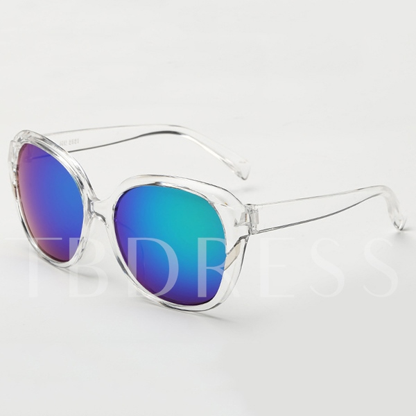 Slash Ornament Full Frame Sunglasses