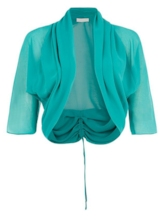 Solid Color Half Sleeve Women's Cape