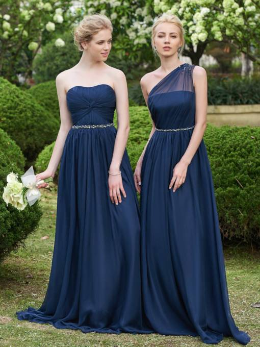 Crystal Bridesmaid Dresses