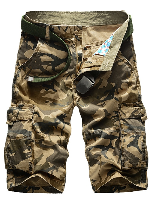 Men's Overalls with Camouflage