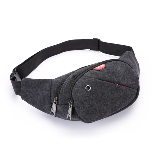 Tide and Cool Style Canvas Men's Waist Bag