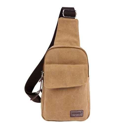 Multi Functional Sports Canvas Men's Chest Bag