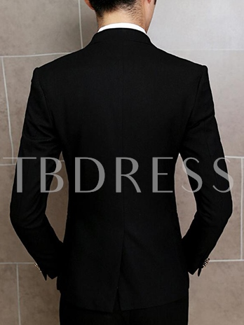 Men's Two Pieces Suits with Single-breasted