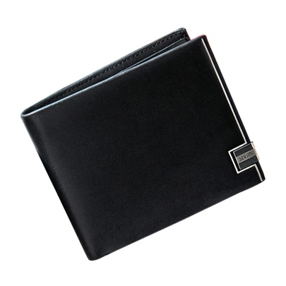 Multilayer Metal Edge Men's Wallet