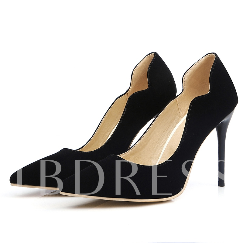 Buy Plain Slip-On Stiletto Heel Pointed Toe Women's Sandals, Spring,Summer,Fall, 12156626 for $35.99 in TBDress store