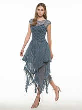 Round Neck Lace Backless Women's Maxi Dress