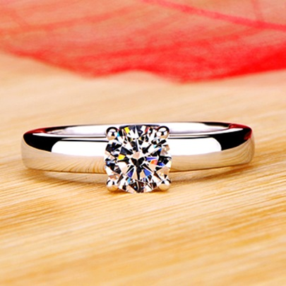 Simulation of Diamante Wedding Ring