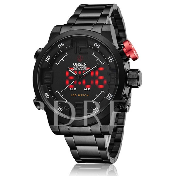 Double Movement Three Pointers Men's Quartz Watch
