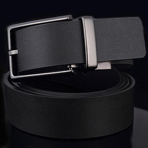 Fashion Pin Buckle Double Sides Men's Belt