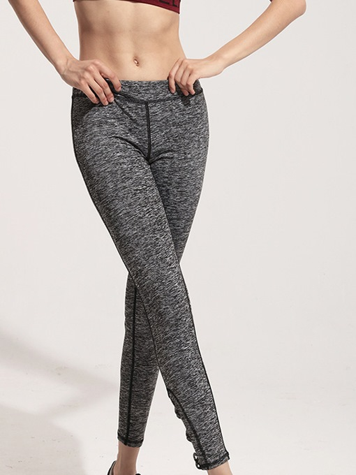 Stretchy Cutout-Leg Women Yoga Leggings