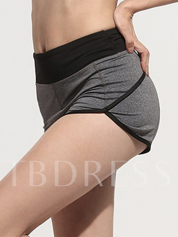 Polyester UV Protection Women Yoga Shorts