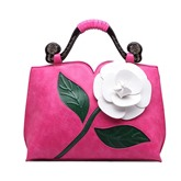 Graceful Flower Decorated Women's Tote Bag