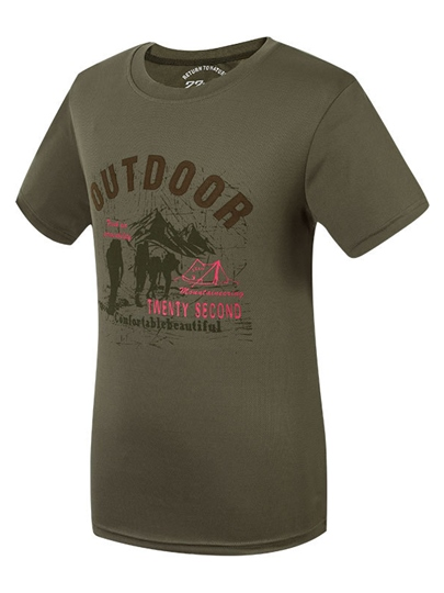 Men's Leisure Breathable Outdoor Short Sleeve T-shirt