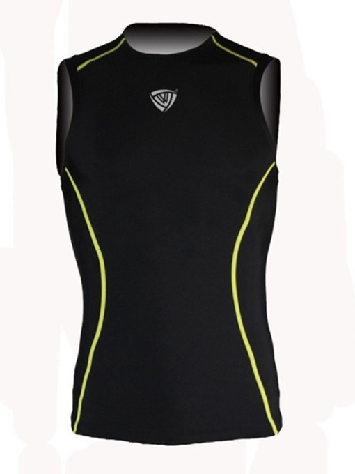 Nylon Sleeveless Men's Compression Tank