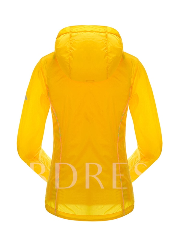 Double Layer Camouflage Outdoor Women's Windbreaker (Plus Size Available)
