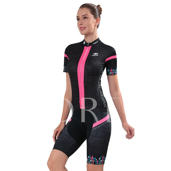Wicking Materials Breathable Women's Biking Jersey (Plus Size Available)