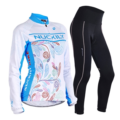 Polyester Biking Flower-print Women's Outfit