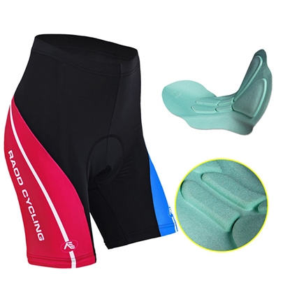 Color Legging Padded Women's Cycling Shorts