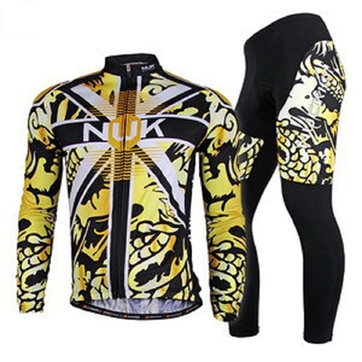 Men's Breathable Long Sleeve Cycling Jersey