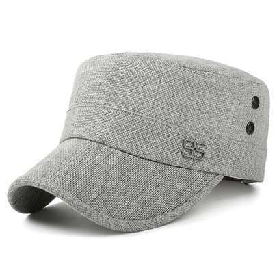 Fashion Linen Men's Casual Baseball Cap