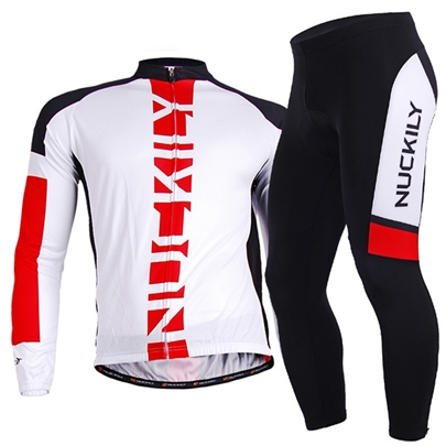 Long Sleeve Full-Zip Men's Biking Jersey