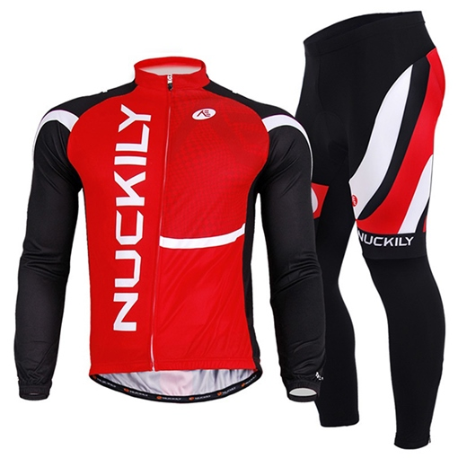 Quick-Dry Red-Color Men's Biking Jersey