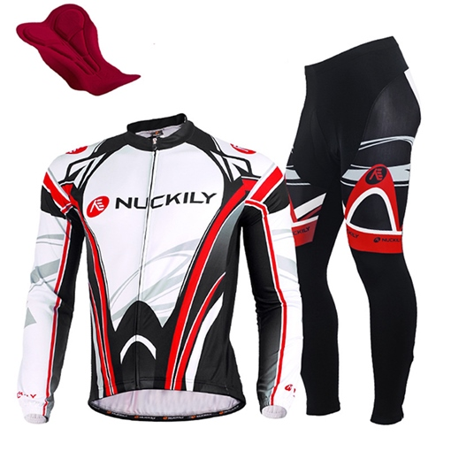 Form-Fitting Wicking Spring Fall Men's Biking Jersey
